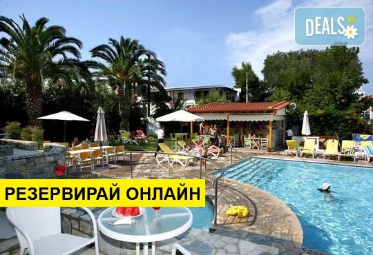 Нощувка на база RR,BB в Dionysos Hotel & Studios 3*, Ханиоти,