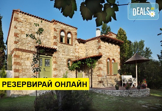 Нощувка на база Закуска и вечеря в Petrino Suites Hotel 4*, Афитос, Халкидики