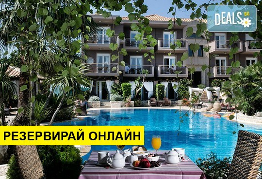 Нощувка на база BB,HB в Achtis Hotel 4*, Афитос, Халкидики
