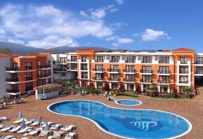 Ранни записвания за почивка в хотел Коста Булгара 3* в Черноморец! Нощувка на база BB, HB или FB, ползване на басейн и шезлонг - Снимка