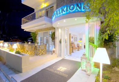 Нощувка на човек на база Закуска, Закуска и вечеря, All inclusive в Alkyonis Hotel 2*, Неа Каликратия, Халкидики - Снимка