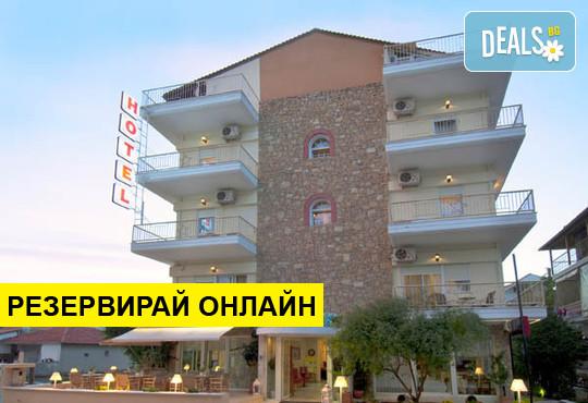 Нощувка на база Закуска,Закуска и вечеря,All inclusive в Alkyonis Hotel 2*, Неа Каликратия, Халкидики