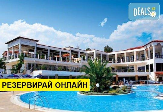 Нощувка на база HB,FB в Alexandros Palace Hotel & Suites 5*, Трипити, Халкидики
