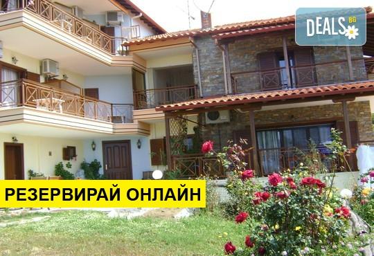 Нощувка на база BB в Panorama Spa Hotel 2*, Уранополис, Халкидики