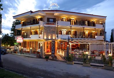 2+ нощувки на човек на база Закуска в Calypso Hotel 3*, Ханиоти, Халкидики, безплатно за деца до 1.99 г. - Снимка