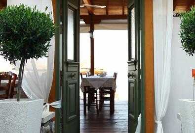 Нощувка на човек на база Закуска и вечеря в Hotel Akroyiali (бивш Germany Hotel) 2*, Олимпиада, Халкидики - Снимка