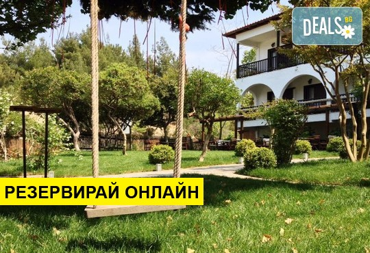 Нощувка на база HB в Hotel Liotopi 2*, Олимпиада, Халкидики