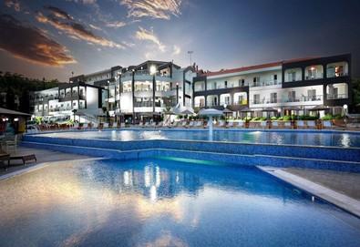 2+ нощувки на човек на база Закуска, Закуска и вечеря в Hotel Blue Dream Palace 4*, Лименария, о. Тасос, безплатно за деца до 2.99 г. - Снимка