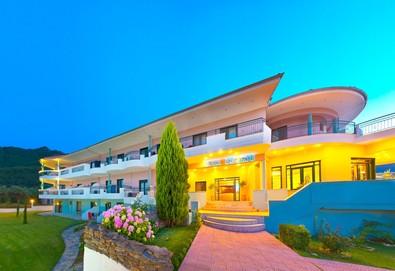 3+ нощувки на човек на база Закуска и вечеря в Ocean Beach Hotel 4*, Скала Потами, о. Тасос, безплатно за деца до 2.99 г. - Снимка