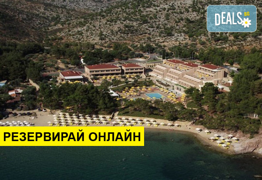 Нощувка на база BB,HB в Royal Paradise Beach Resort & Spa 5*, Потос, о. Тасос