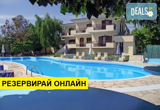 Нощувка на база BB в Macedon Hotel 3*, Лименас, о. Тасос