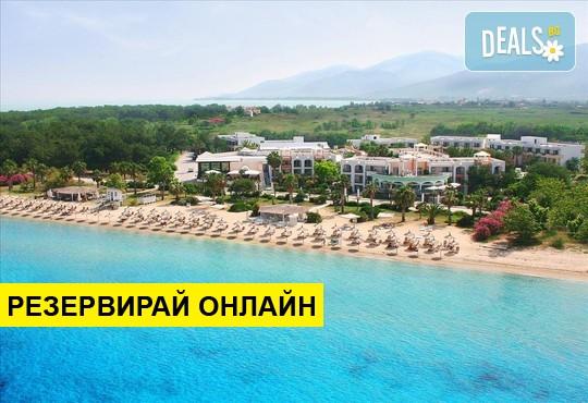 Нощувка на база HB в Ilio Mare Beach Hotel 5*, Скала Принос, о. Тасос