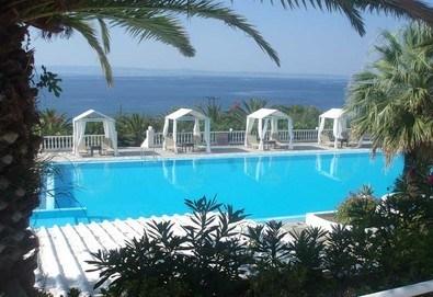 Нощувка на база Закуска в Bianco Olympico Hotel 3*, Ватопеди, Халкидики - Снимка