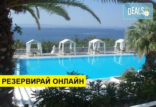 Нощувка на база BB в Bianco Olympico Hotel 3*, Ватопеди, Халкидики
