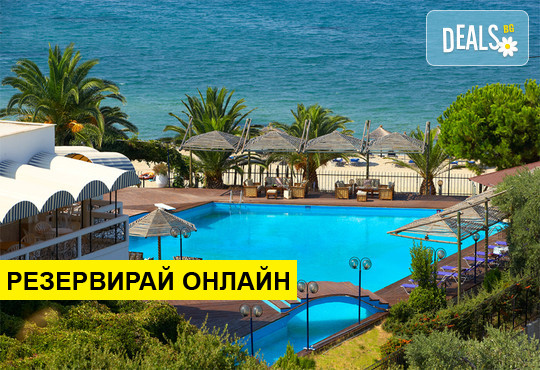 Оферта: Нощувка на база BB в Kamari Beach Hotel 3*, Потос, о. Тасос
