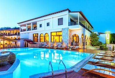 Нощувка на база Закуска и вечеря, All inclusive в Possidi Paradise Hotel 4*, Посиди, Халкидики - Снимка