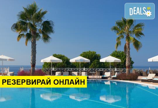 Нощувка на база HB в Pomegranate Wellness Spa Hotel 5*, Потидея, Халкидики