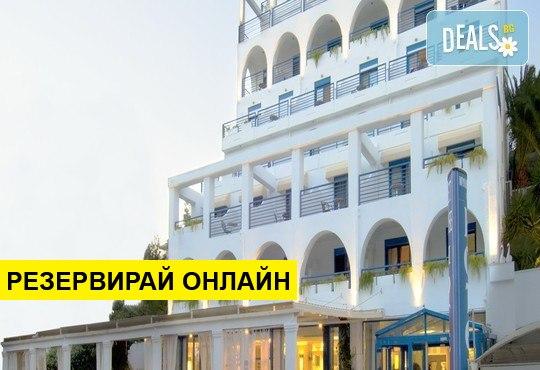 Нощувка на база BB,HB,AI в Secret Paradise Hotel 4*, Неа Каликратия, Халкидики