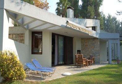 Нощувка на база Само стая в Sani cape Villas Stamatiadis 4*, Сани, Халкидики - Снимка