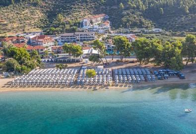 4+ нощувки на човек на база Закуска и вечеря в Lagomandra Beach Hotel 4*, Неос Мармарас, Халкидики, безплатно за деца до 1.99 г. - Снимка