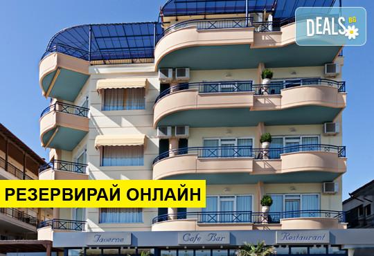 Нощувка на база Закуска,Закуска и вечеря в Olympic Star Beach Hotel 4*, Неи Пори, Олимпийска ривиера