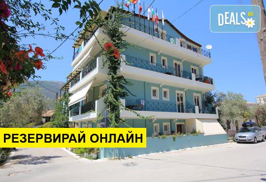 Оферта: Нощувка на база BB,HB в Vassiliki Bay Hotel 2*, Лефкада, о. Лефкада