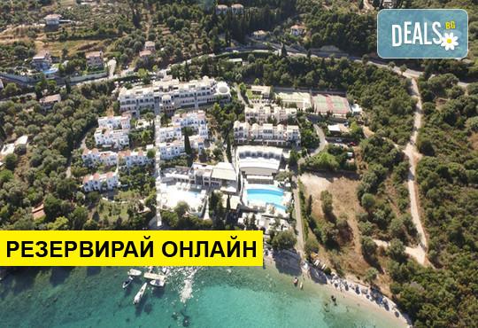 Нощувка на база BB,HB,FB в Porto Galini Seaside Resort & Spa 4*, Лефкада, о. Лефкада