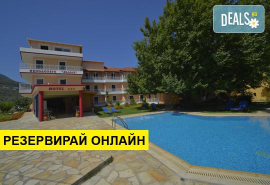 Нощувка на база BB в Kalias Hotel 3*, Лефкада, о. Лефкада