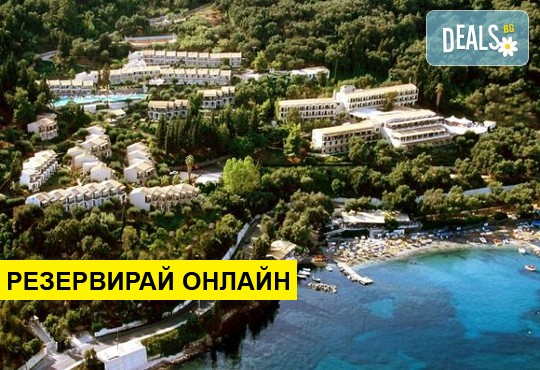 Нощувка на база All inclusive в Aeolos Beach Resort 3*, Perama, о. Корфу