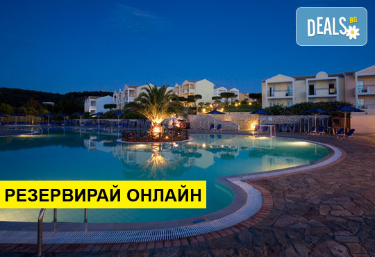 Нощувка на база All inclusive в Mareblue Beach Resort 4*, Агиос Спиридон, о. Корфу