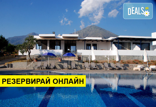 Нощувка на база RR,BB в Samothraki Beach Apartments & Suites Hotel 3*, Макрилиес, о....
