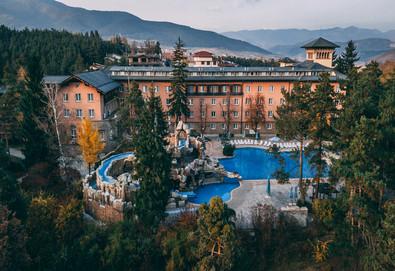 Луксозна почивка в СПА хотел Двореца 5* във Велинград! Нощувка на база ВВ, НВ или FB, ползване на вътрешен и външен минерален басейн, сауна, парна баня и турска баня - Снимка