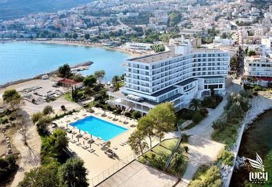 Нощувка на човек на база Закуска, Закуска и вечеря в Lucy Hotel 5*, Кавала, Северна Гърция - Снимка