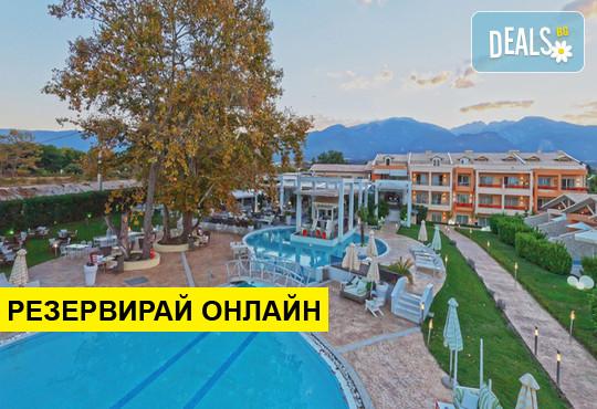 Нощувка на база BB,HB,FB в Litohoro Olympus Resort Villas & Spa 5*, Литохоро, Олимпийска ривиера