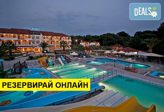 Нощувка на база BB в Hotel Kanali 3*, Превеза, Епир