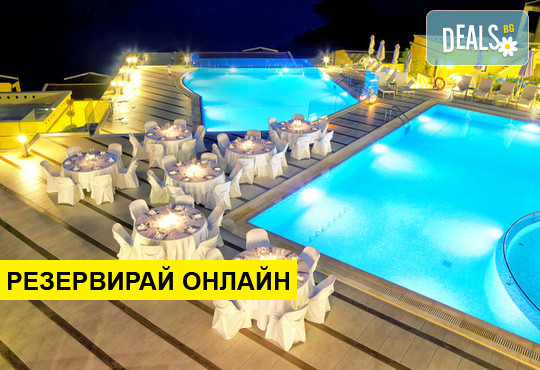 Нощувка на база BB,HB,FB в Sivota Diamond Spa Resort 5*, Сивота, Епир