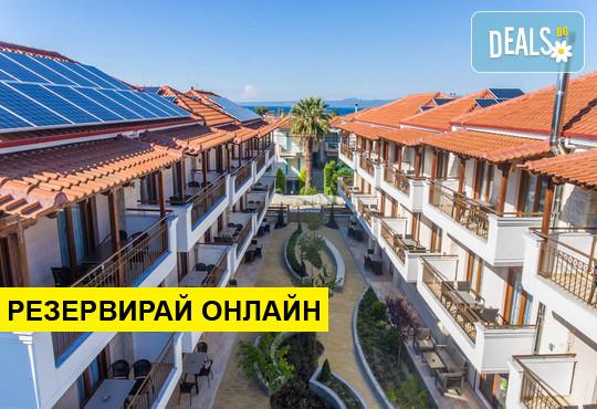 Нощувка на база Само стая в Apanemia Apartments by Flegra Hotels 2*, Пефкохори, Халкидики