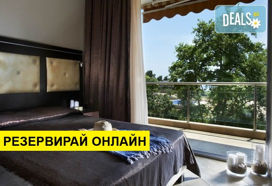 Нощувка на база RR в 4-You Hotel Apartments, Метаморфоси, Халкидики