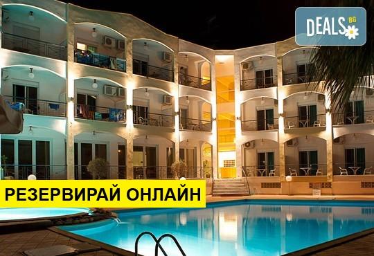 Нощувка на база BB,HB в Stavros Beach Hotel 3*, Ставрос, Северна Гърция