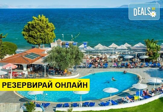 Нощувка на база HB,AI в Grand Bleu Sea Resort 3*, Еретрия, Евия