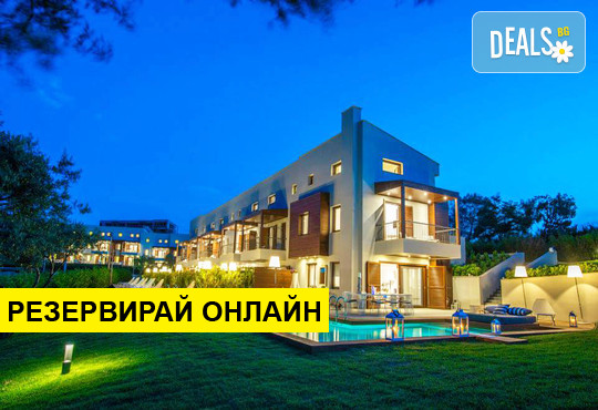 Нощувка на база Само стая,Закуска,Закуска и вечеря в Avaton Luxury Villas Resort, Неа Рода, Халкидики
