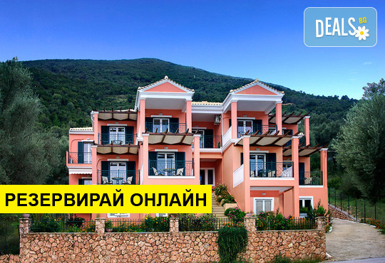 Нощувка на база RR в Asterida Apartments, Сивота, о. Лефкада