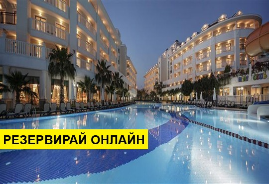 Самолетна програма от София! 7 нощувки на база Ultra all inclusive в Alba Queen Hotel 5*