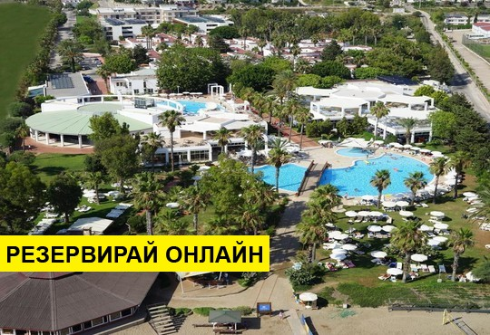 Самолетна програма от София! 7 нощувки на база All inclusive в Club Kastalia 5*