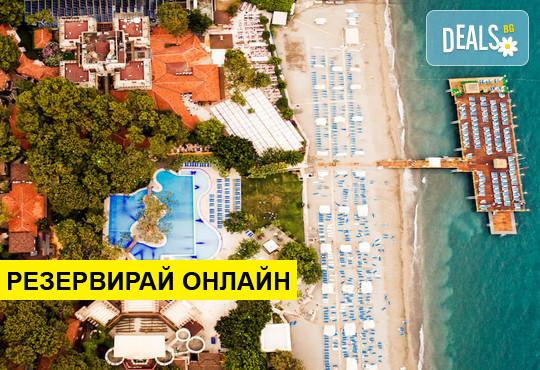 Самолетна програма от Варна! 7 нощувки на база Ultra all inclusive в Ulusoy Kemer Holiday Club  5*