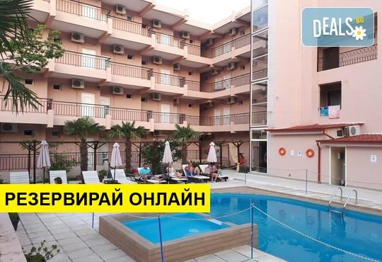 Нощувка на база AI в Golden Beach Hotel 3*, Метаморфоси, Халкидики