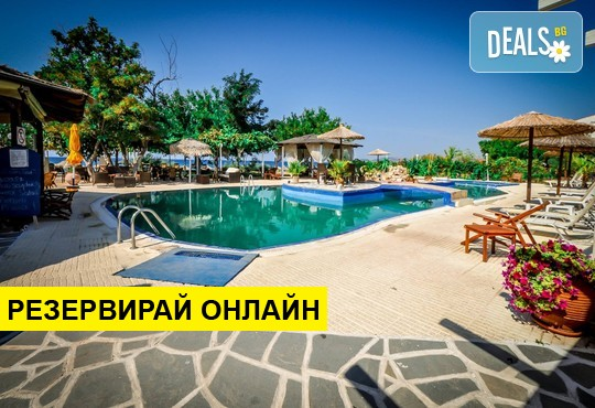Нощувка на база RR,BB в Anna's Star Hotel 3*, Потос, о. Тасос