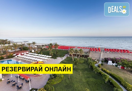 Самолетна програма от София! 7 нощувки на база All inclusive в Throne Seagate Belek Hotel 5*
