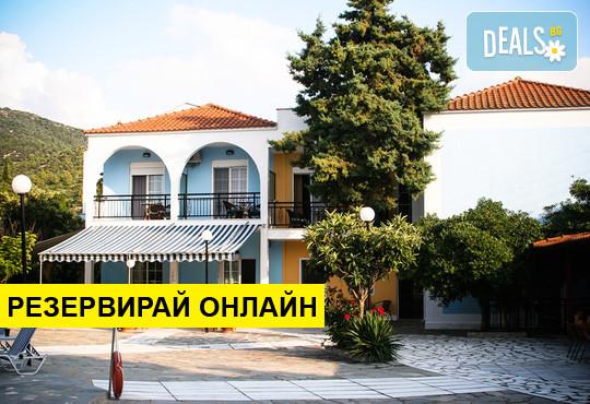 Нощувка на база Закуска и вечеря в Chatziandreou Hotel 2*, Скала Принос, о. Тасос