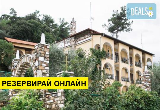 Нощувка на база RR,BB в Castle Pontos Hotel 2*, Скала Потами, о. Тасос